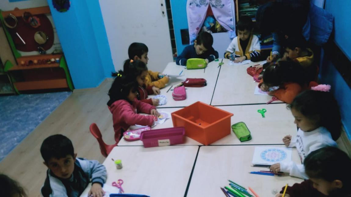 Okul Oncesi Ogle Grubu Ogretmeni Sevil Ozhan Dan Mandala Boyama